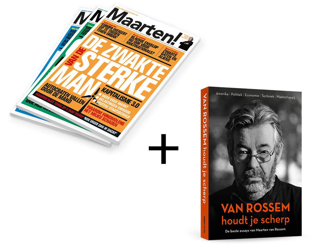 Vijf nummers Maarten! + gratis Van Rossem houdt je scherp
